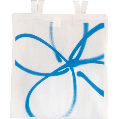 Forget-me-not light blue tote bag